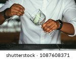 close up of the hands of a... | Shutterstock . vector #1087608371