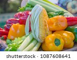 Small photo of Excellent Vegetables and vegetables of the camp, bright and fresh for consumption in Mediterranean diets that are so healthy for the human being