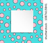 Pop Art Colorful Confetti...