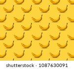 Pattern Bananas. Fresh Ripe We...