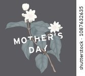 happy mother's day greeting... | Shutterstock .eps vector #1087632635