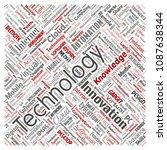 vector conceptual digital smart ... | Shutterstock .eps vector #1087638344