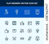 modern  simple vector icon set...   Shutterstock .eps vector #1087662947