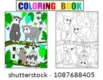 Childrens Coloring Book And...