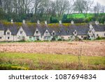 traditional cotswold stone... | Shutterstock . vector #1087694834