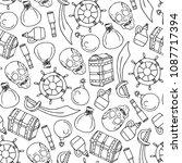 set of pirates vector...   Shutterstock .eps vector #1087717394