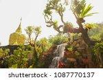 wat tham pha daen beautiful... | Shutterstock . vector #1087770137