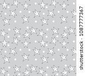 cute animal patterns vector | Shutterstock .eps vector #1087777367