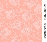 retro style hand drawn... | Shutterstock .eps vector #1087800821
