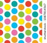 colorfull vector pills seamless ...   Shutterstock .eps vector #1087814567