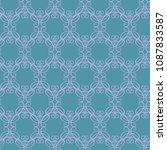 seamless vector antique...   Shutterstock .eps vector #1087833587