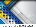 abstract background design with ... | Shutterstock .eps vector #1087866947