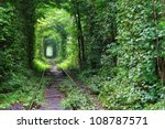 Natural Tunnel Of Love Formed...