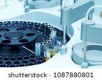 modern robotical machine for...   Shutterstock . vector #1087880801