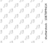 music note pattern vector... | Shutterstock .eps vector #1087899614
