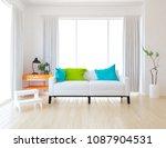 idea of white scandinavian... | Shutterstock . vector #1087904531
