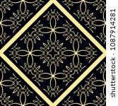 seamless geometric background....   Shutterstock .eps vector #1087914281