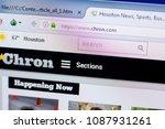 Small photo of Ryazan, Russia - May 08, 2018: Chron website on the display of PC, url - Chron.com.