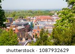 windsor and eton view from the... | Shutterstock . vector #1087932629