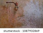Small photo of faucet water and wall wane