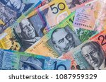 close up of colorful australian ...   Shutterstock . vector #1087959329