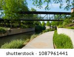 north river walk area near the... | Shutterstock . vector #1087961441