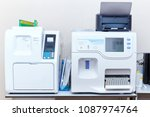 modern medical laboratory.... | Shutterstock . vector #1087974764