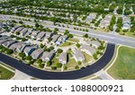 suburb houses and homes in new... | Shutterstock . vector #1088000921