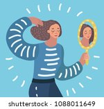 vector cartoon illustration o... | Shutterstock .eps vector #1088011649