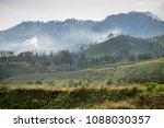 kawah wurung  bondowoso  east...   Shutterstock . vector #1088030357