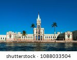 fiscal island with historical... | Shutterstock . vector #1088033504