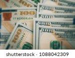 american dollars cash money | Shutterstock . vector #1088042309