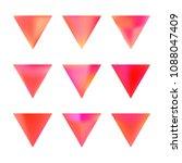 vector gradient reverse... | Shutterstock .eps vector #1088047409