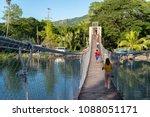 bohol island  philippines   apr ... | Shutterstock . vector #1088051171