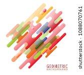 minimalistic motion design...   Shutterstock .eps vector #1088070761