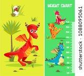 vector height chart in... | Shutterstock .eps vector #1088095061