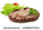 Isolated Sandwich With Meat...