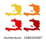 vector illustration of haiti... | Shutterstock .eps vector #1088104007