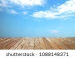 fresh blue air white cloud view ... | Shutterstock . vector #1088148371
