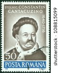 romania   circa 1990  stamp... | Shutterstock . vector #108815099
