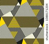 complex geometric stripes... | Shutterstock .eps vector #1088171204