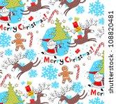 christmas background vector       Shutterstock .eps vector #108820481