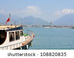 the ship in the port | Shutterstock . vector #108820835