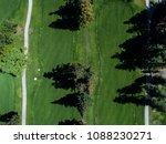aerial photograph of golf... | Shutterstock . vector #1088230271