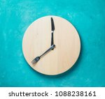 intermittent fasting and skip... | Shutterstock . vector #1088238161