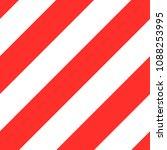 red diagonal line background... | Shutterstock .eps vector #1088253995