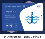quality one page navy anchor...