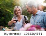 group of friends in their... | Shutterstock . vector #1088264951