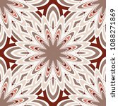 decorative floral wallpaper for ... | Shutterstock .eps vector #1088271869