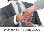 business partnership meeting... | Shutterstock . vector #1088278271